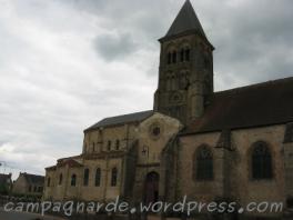église de St Menoux